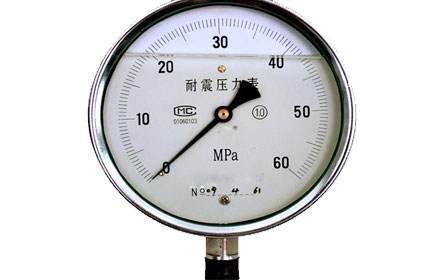 耐震压力表实验步骤及方法